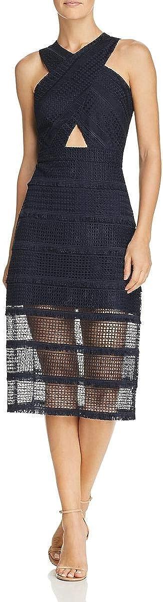 Sam Edelman Women's Criss Cross Front Lace Dress