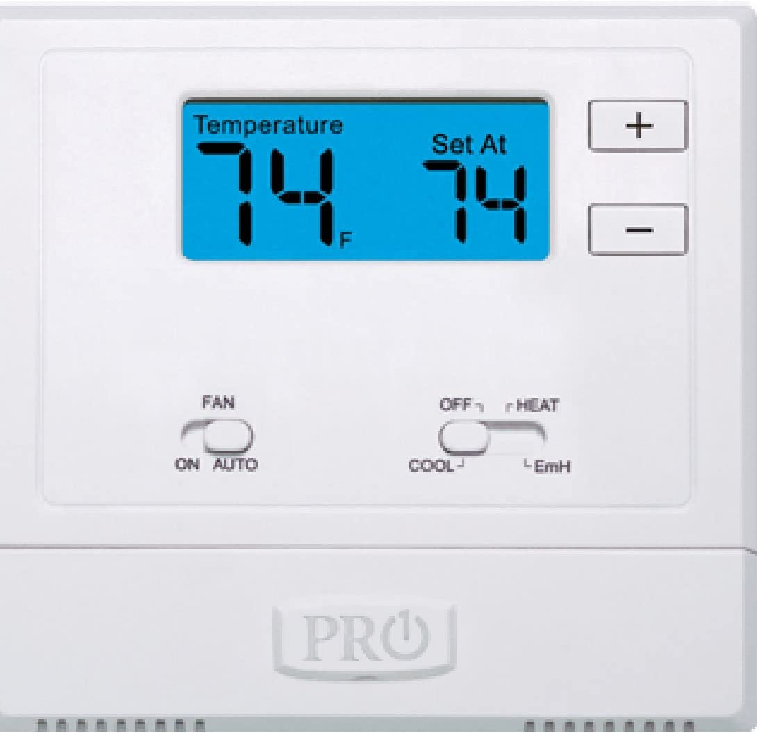 PRO1 IAQ T621-2 New life Single-Stage 2 Therm Animer and price revision Non-Programmable Cold Hot 1