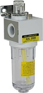 PneumaticPlus SAL2000M-N02B Miniature Compressed Air Lubricator 1/4
