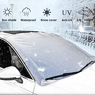 EEPIRR Car Snow Cover, Car Windshield Cover for...