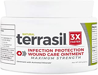 Terrasil® Wound Care - 3X Faster Healing, Dr. Recommended, Infection Protection Ointment for Bed sores, Pressure sores, Di...