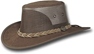 Kangaroo Cooler Leather Hat - Item 1038