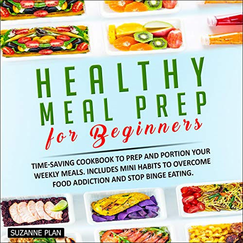 Healthy Meal Prep for Beginners audiobook cover art