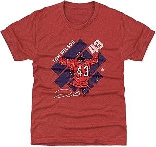 Tom Wilson Washington Hockey Kids Shirt - Tom Wilson Stripes