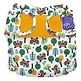 Bambino Mio, miosoft windelüberhose, waschbär maske, Größe 1 (