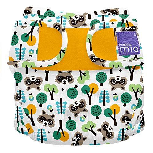 Bambino Mio, mioduo mutandina contenitiva copripannolino, orsetto lavatore, taglia 2 (9 kg+)