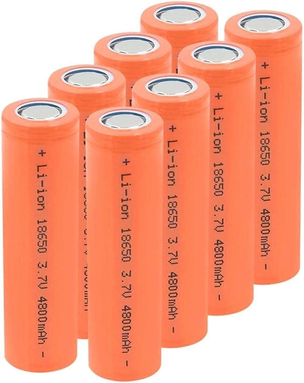 Rechargeable Battery 3.7V 4800Mah Batt 18650 shipfree cheap Li-Ion