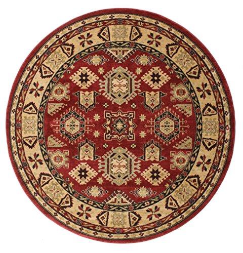 RugVista Schirwan Kazak Teppich Ø 200 Orientalischer, Rund Teppich