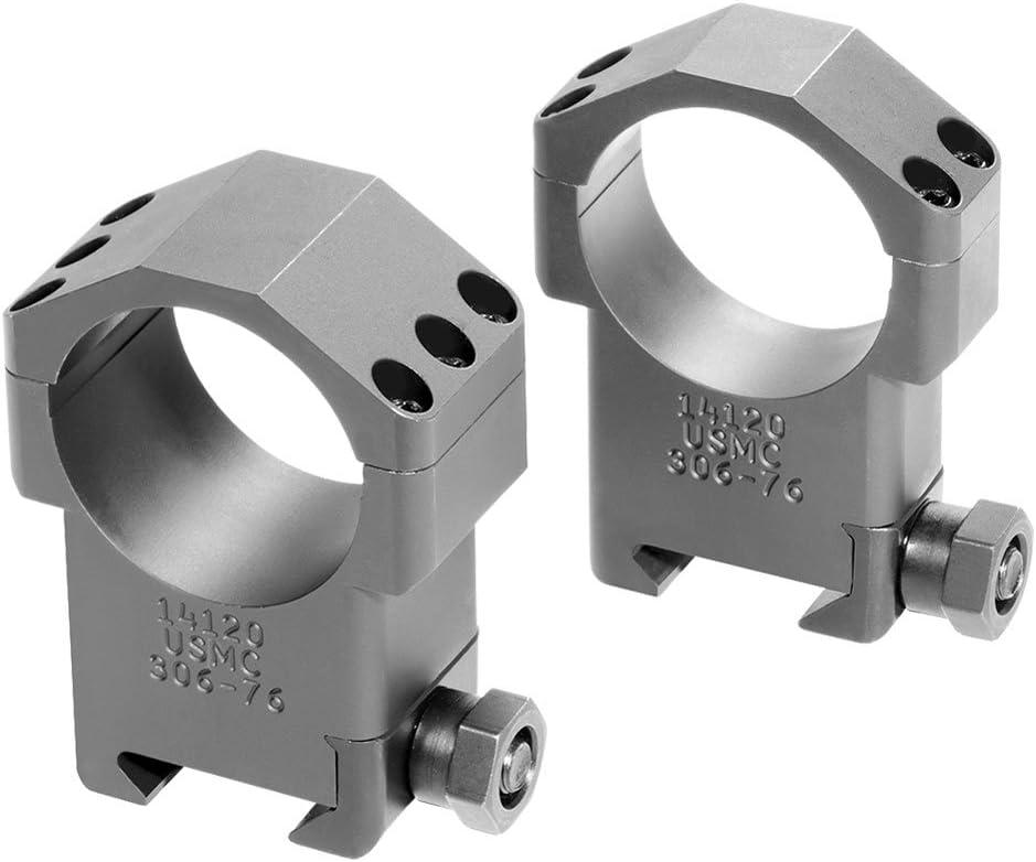 Badger Ordnance SASR Popular Max 48% OFF overseas 34mm Ultra Rings Black Scope High 306-76