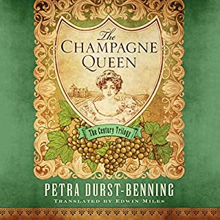 The Champagne Queen audiobook cover art