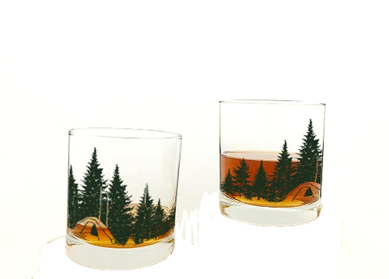 Whiskey Glasses by Mail order Free Shipping Cheap Bargain Gift Black Lantern – S Handmade Glass