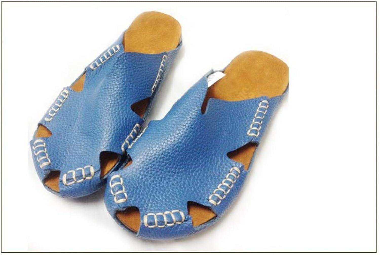Women's Sandals Genuine Leather Gladiator Sandals Women's Summer shoes Beach Slides for Female Footwear