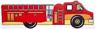 Para cama de niños, incluye colchón camión de bomberos (140x 70) Talla:140 x 70