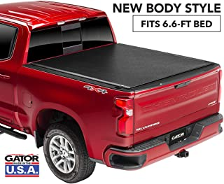 Gator ETX Soft Roll Up Truck Bed Tonneau Cover   137265   fits 2019 GMC Sierra/Chevy Silverado 1500 (New Body Style), 6.6' Bed   Made in the USA