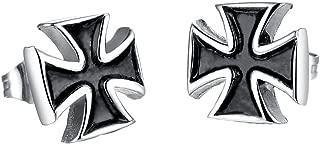 Best iron cross earrings Reviews