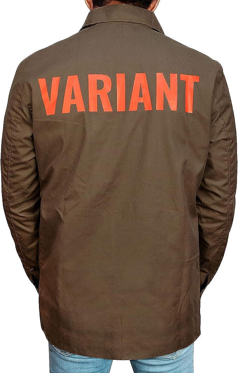 Loki TVA Cotton Jacket - Men Casual Brown Lightweight Cotton Variant Jacket