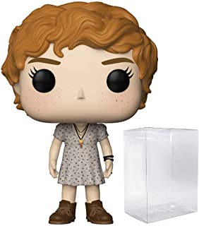 Funko Pop Movies: Stephen King's It - Beverly Marsh with Key Necklace Vinyl Figure (Bundled with Pop Box Protector Case)