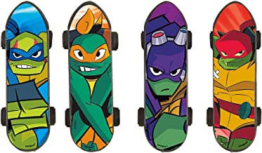 Unique Rise of The TMNT Party Skateboards, 4 Ct.