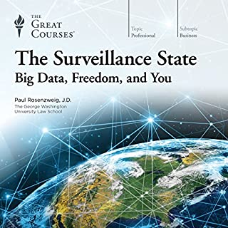 The Surveillance State audiobook cover art
