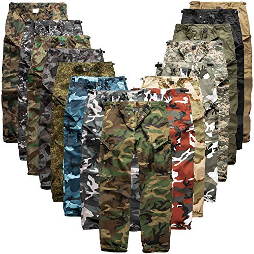 Urbandreamz BDU Hose Red Camo - L