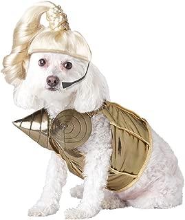 Pup-A-Razzi Pop Queen Dog Costume, Gold