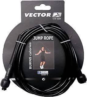 Vector X Skipping Rope (Black)