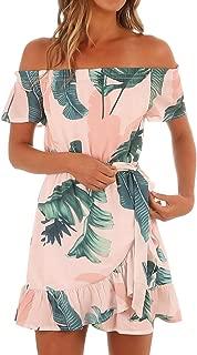 Best summer dress off shoulder Reviews