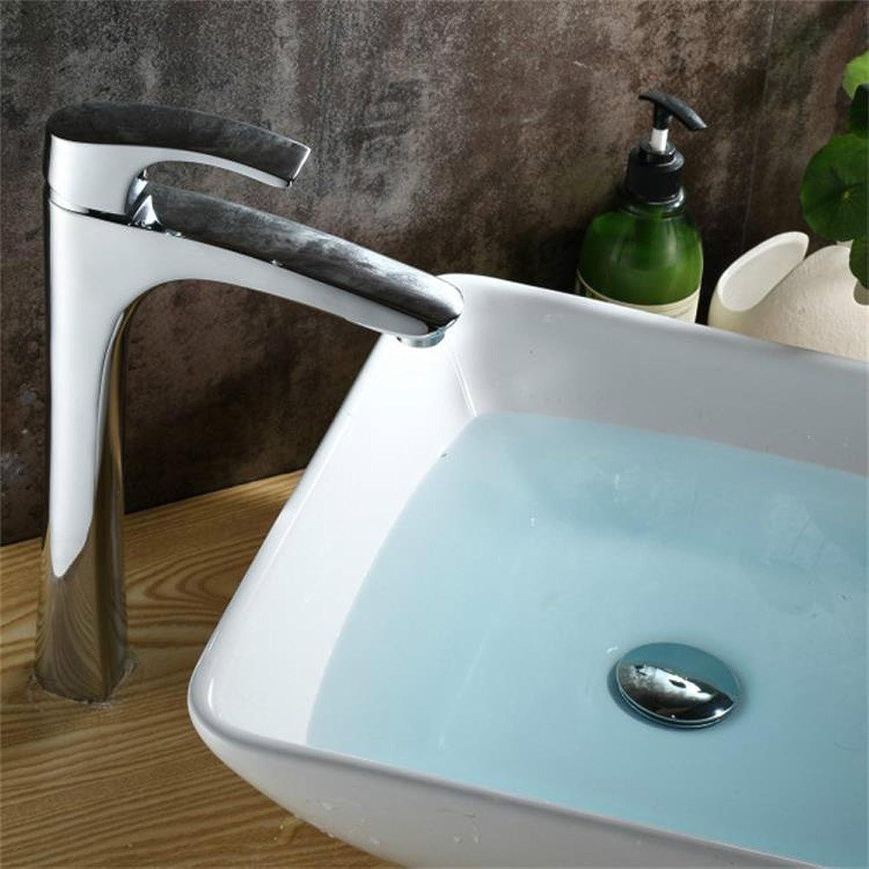 contador genuino SHLONG Grifo Grifo Grifo de lavabo superior de mesa de cobre, frío y caliente  Obtén lo ultimo