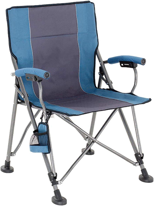 Chair Leisure Fishing Chair backrest Portable Beach Chair Computer Chair Ergonomic Esports Office Chair (color   A)
