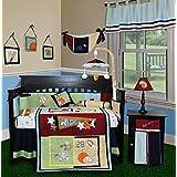 SISI Baby Bedding - All Star 14 PCS Crib Bedding Set Including Lamp Shade by Sisi
