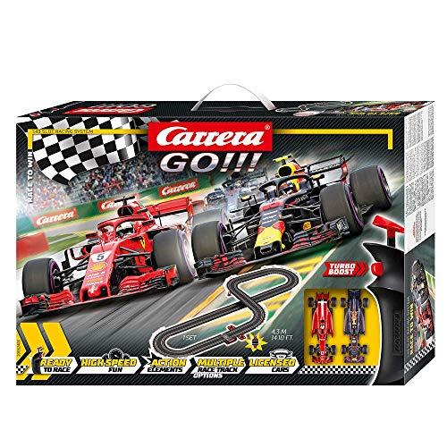 Carrera- Race to Win Circuito Completo de Coches, Multicolor, Talla Única (Stadlbauer 20062483)