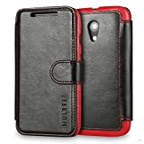 Mulbess Wallet Case for Motorola Moto G 2nd, [Layered Dandy