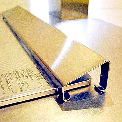コンロ 排気口カバー ステンレス製 間口60cm用