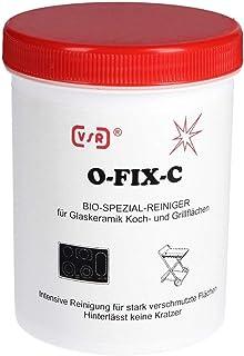 VSR 8000400610 O-Fix-C Spezialreiniger Glaskeramik-Kochfelder, Grillflächen und Keramikspülen, 250 g Dose