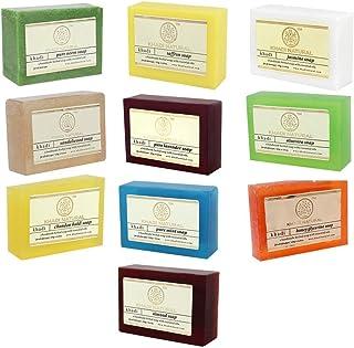 KHADI NATURAL Soap Combo Assorted Natural Soap Gift Set, 125 g (Pack of 10)