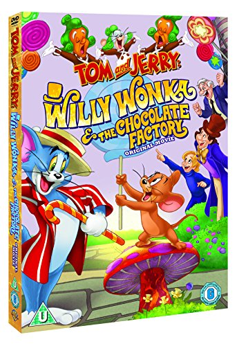 Tom And Jerry: Willy Wonka & The Chocolate Factory [DVD] [2017]