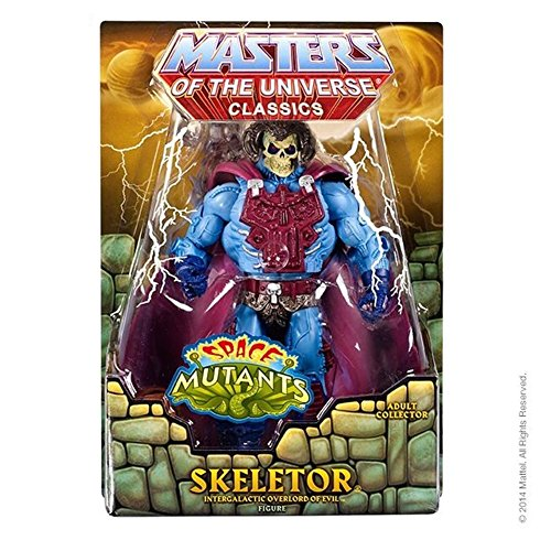 Masters of the Universe Space Mutants Intergalactic Skeletor Figure