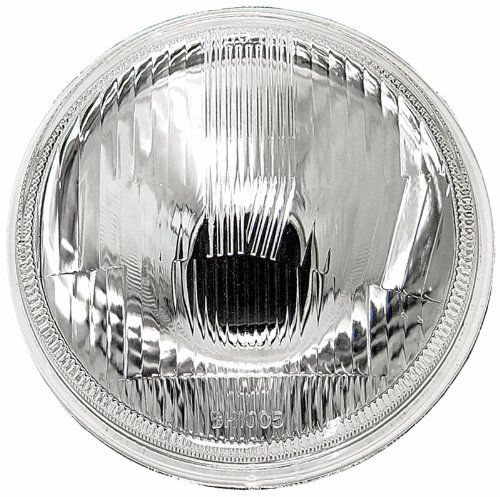 "IPCW CWC-7006 7"" Plain Round Conversion Headlight - 1 Piece"