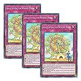 【 3枚セット 】遊戯王 英語版 LIOV-EN072 Amaze Attraction Wonder Wheel A・∀・WW (ノーマル) 1st Edition