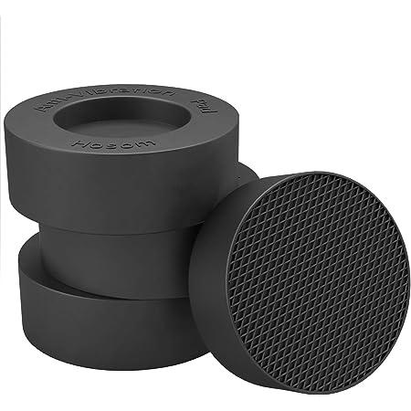 Sonvera Pads Anti Vibration Pads Washing Machine Anti Vibrasion Pads Washer Foot Pads Stabilizer Shock Absorber Set of 6