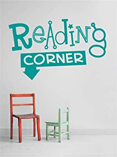 Design with Vinyl OMG 431-23 As Seen Decor Item Reading Corner Quote Home Living Room Bedroom Decor Vinyl Wall Decal Stick...