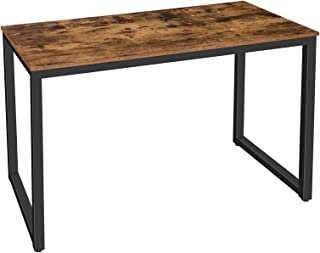 HOOBRO Computer Desk, Home Office Writing Desk, Industrial Simple Style PC Laptop Study Table in Living Room, Bedroom, Stu...
