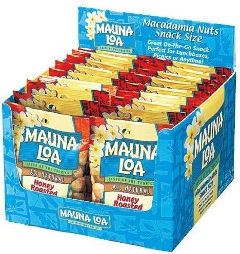 MAUNALOA(マウナロア) マカダミアナッツ 18袋 (【ハニーロースト】)