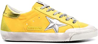 Golden Goose Luxury Fashion Donna GWF00175F00125720261 Giallo Pelle Sneakers   Ss21