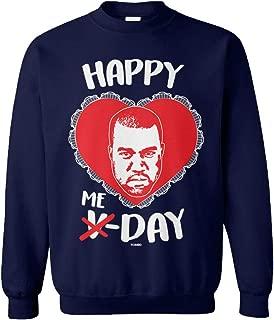 Happy ME Day - Kanye Funny Valentine's Day Unisex Crewneck Sweatshirt
