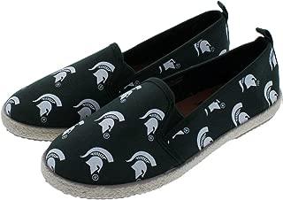 FOCO NCAA Womens NCAA Espadrille Canvas Shoe - Womens
