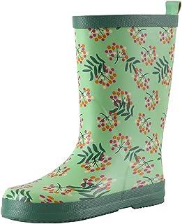 Reima Ravata Kids Waterproof Rain Boots for Girls Boys Outdoor Rubber Boot