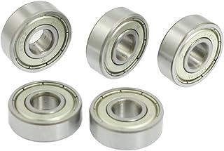 1 rodamiento de bolas de color blanco ZrO2 cer/ámica miniatura 608 rodamiento de bolas para dedo juguete 8 x 22 x 7 mm