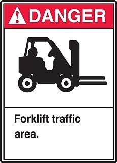 Accuform MVHR018VA Aluminum Sign, Legend