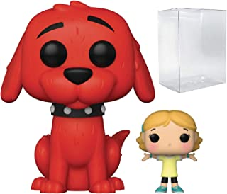 Clifford with Emily Pop #27 Pop Books: Clifford Vinyl Figure (Bundled with EcoTEK Plastic Protector to Protect Display Box)